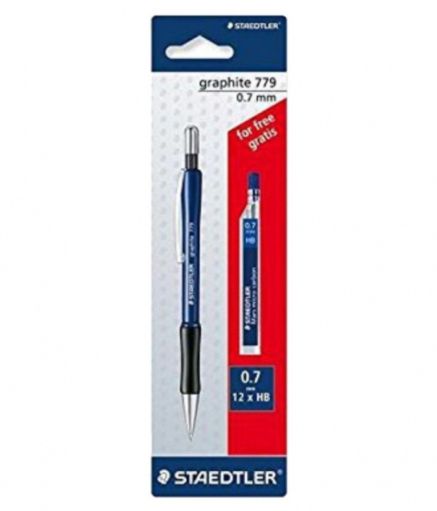 The Best Staedtler Graphite Mechanical Pencil Step by Step Staedtler Graphite 779 0.7Mm Mechanical Pencil - Multicolour With 1 Pack  Lead Images