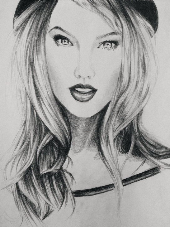 The Best Taylor Swift Pencil Drawing Courses Taylor Swift Portrait In Pencil #drawing #art #taylorswift #sketch Images