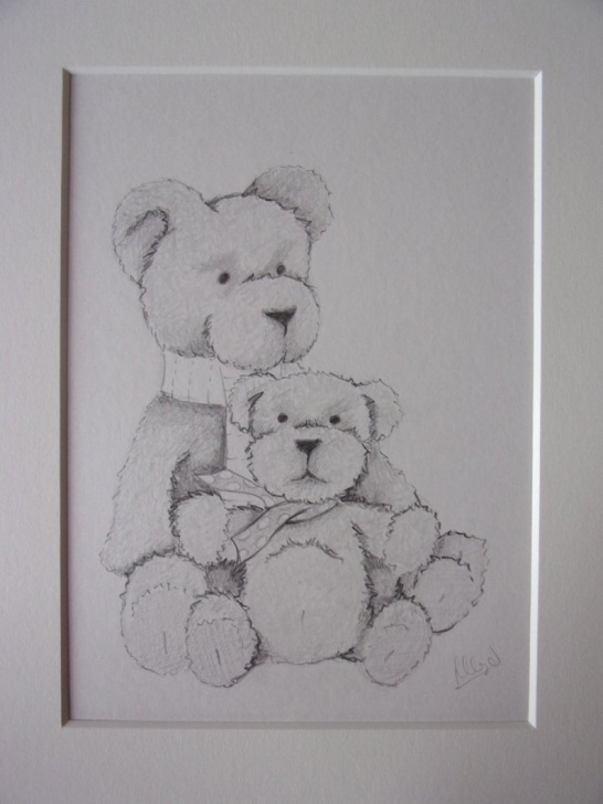 The Best Teddy Bear Pencil Sketch Techniques for Beginners Teddy Bears Pencil Drawing, Teddy Bears Drawing, Pencil Sketch, 10X8  Drawing, Teddy Bears Pictures Images