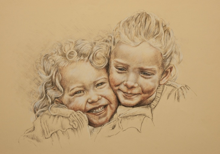 The Best Tinted Charcoal Drawings Tutorial Photo To Portrait: Tinted Charcoal Portrait | Clarkpaintings Image