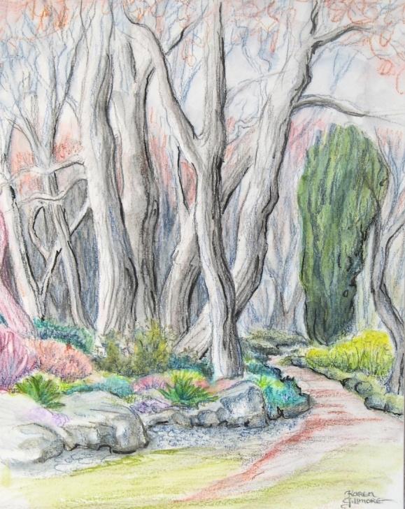 The Best Watercolor Sketch Pencil Simple Technique Of The Week — Watercolour Pencils | Karen Gillmore Art Image