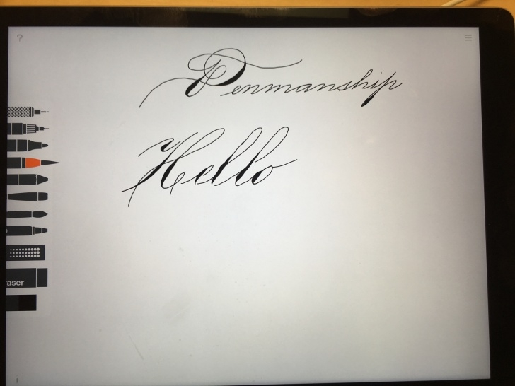 The Complete Apple Pencil Calligraphy Techniques for Beginners It's Difficult, But With Practice Its Definitely Possible To Do Image