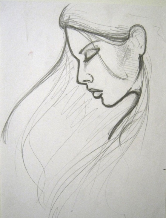 The Complete Basic Pencil Art Step by Step Easy Portrait Drawing - Google Search | Grandmas Picture | Easy Pic