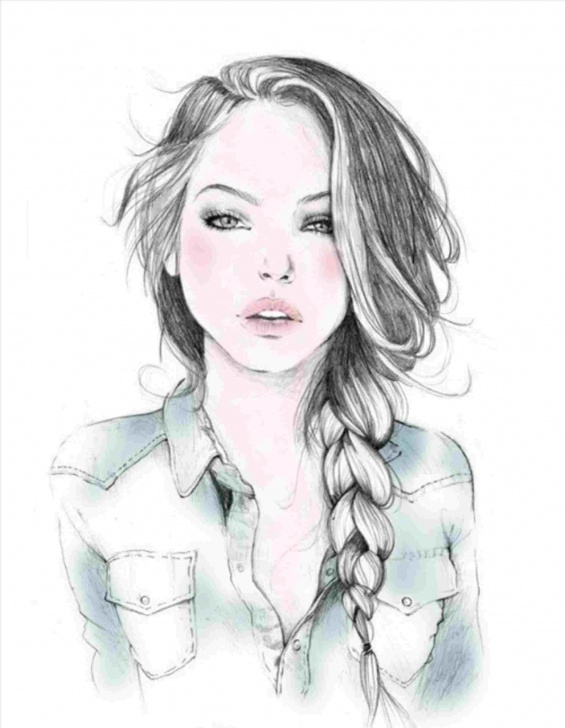 The Complete Beautiful Sketches Of Girl Step by Step Search-In-Rhpinterestcom-Beautiful-Girls-Sketches-Girl Photo