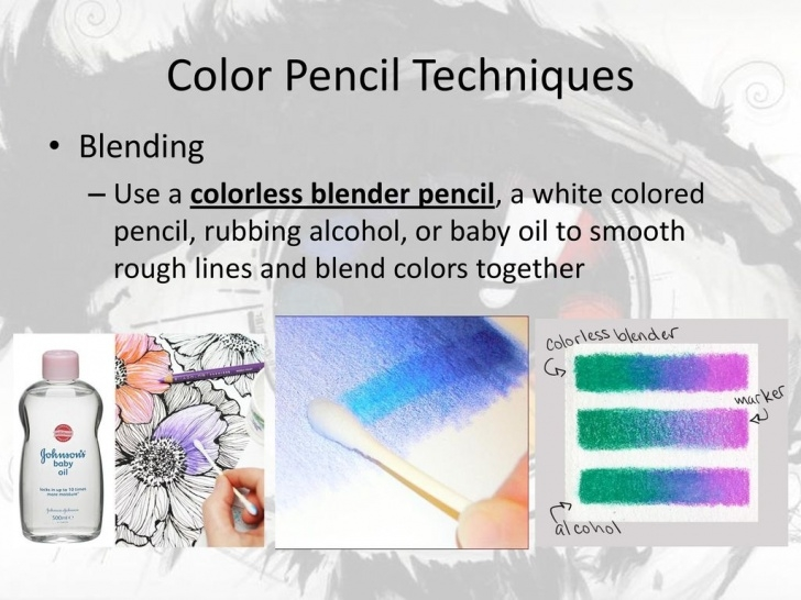 The Complete Blending Colored Pencils With Baby Oil Ideas Unit 1: Color Theory Using Color Pencil Techniques - Ppt Download Image