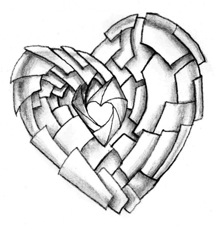 The Complete Broken Heart Drawings In Pencil Techniques for Beginners Broken Heart Drawings In Pencil | Free Download Best Broken Heart Pic