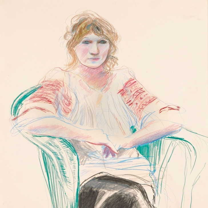 The Complete David Hockney Pencil Drawings Simple What To Book: David Hockney, Early Drawings Picture