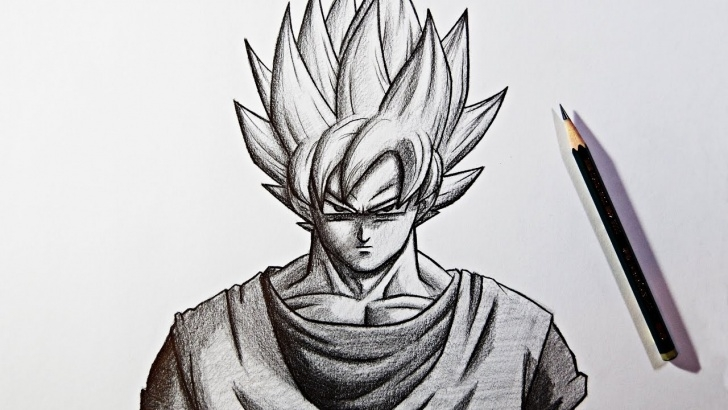 The Complete Easy Goku Drawings In Pencil Courses Dragon Ball Super Pencil Drawing | Goku Super Saiyan Zeichnen Pics