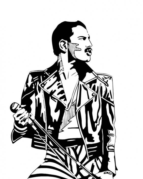 The Complete Freddie Mercury Stencil Art Easy The Legend: Freddie Mercury @officialqueenmusic @mercury_Motg Pics