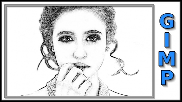 The Complete Gimp Pencil Sketch Ideas Gimp: How To Change A Photo Into A Pencil Drawing. Pictures