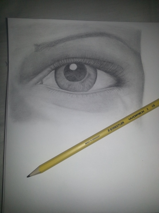 The Complete Hb Pencil Art Step by Step Hb Pencil Drawing Of Eye | Art Ideas | Eye Pencil Drawing, Pencil Images