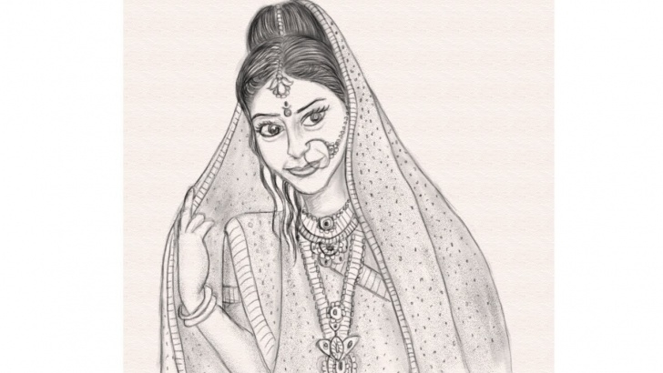 The Complete Indian Pencil Drawing Techniques for Beginners How To Draw An Indian Girl Step By Step || Pencil Sketch || Drawing In  Mypaint Images