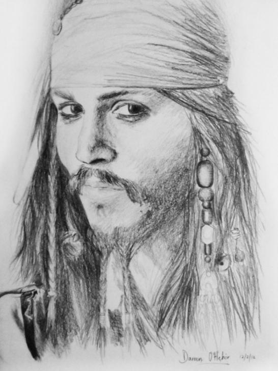 The Complete Jack Sparrow Pencil Sketch Techniques for Beginners Jack Sparrow Pencil Sketch And Captain Jack Sparrow Pics