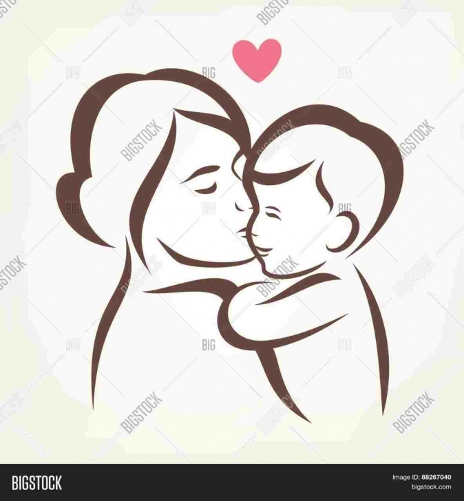 The Complete Mothers Love Pencil Drawing Simple Mother Drawing At Paintingvalley | Explore Collection Of Mother Image