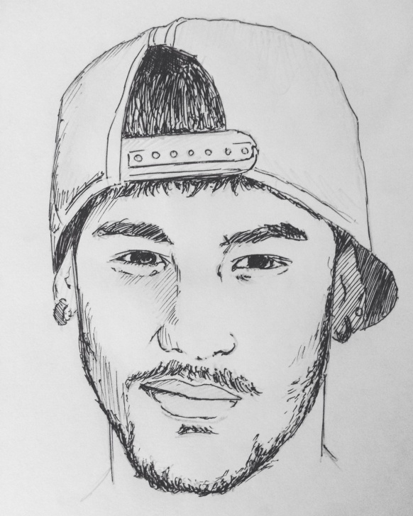 The Complete Neymar Pencil Drawing Courses Neymar Drawing At Paintingvalley | Explore Collection Of Neymar Photo