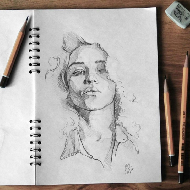 The Complete Pencil Drawing Instagram Courses Taken From Instagram @tashimrod | Sketches | Rysowanie, Rysowanie Images