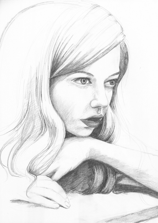 The Complete Pencil Drawings Of People Simple Pencil Drawings | Melissa Peterson Images