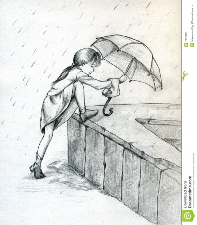 The Complete Pencil Sketches Of Girl In Rain for Beginners Pencil Sketch Of Rain And Pencil Sketches Of Girl And Boy Boy On Pictures