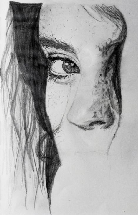 The Complete Pencil Sketches Tumblr Free Ig Art — Stare. Sketch. Technique: Graphite Pencil. 2014 Pictures