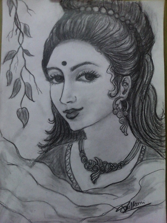 The Complete Pencil Work Drawing Free Simple And Quick Pencil Work By Vibha's Hobby | Diy | Drawings Pic