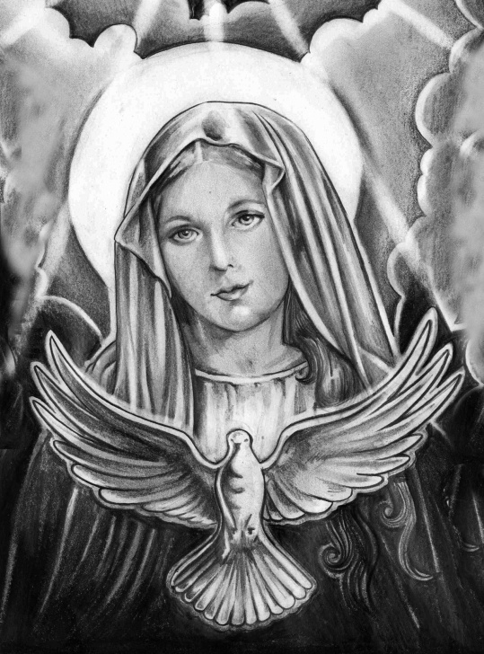 The Complete Religious Pencil Drawings Easy Religious Drawings At Paintingvalley | Explore Collection Of Pic