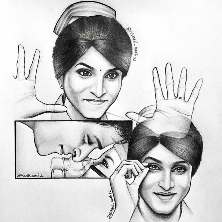 The Complete Sivakarthikeyan Pencil Drawing Techniques for Beginners Omg Such An Awesome Drawing By #michaelnoah #sivakarthikeyan #siva Image
