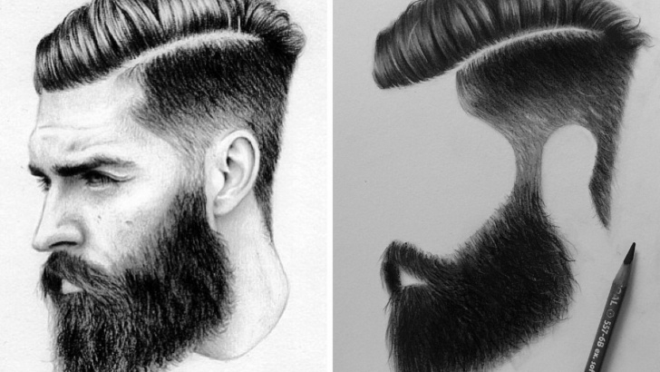 The Complete Using Charcoal Pencils Easy How I Draw Male Hair With Charcoal Pencils | Rajzok In 2019 Photos