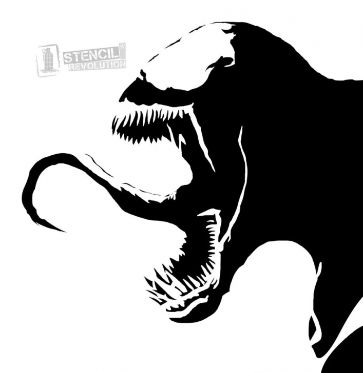 The Complete Venom Stencil Art Free Venom Stencils In 2019 | Art | Spray Paint Stencils, Stencils, Spray Picture