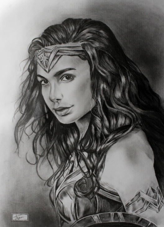 The Complete Wonder Woman Pencil Drawing for Beginners Pencil Sketch Of Wonder Woman. Feel Free To Share Your Advice And Image