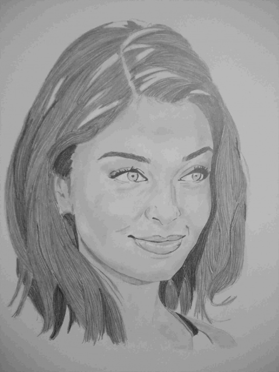 The Most Famous Aishwarya Rai Pencil Sketch Techniques Pencil Aishwarya Rai Sketch | Drawing Work Picture