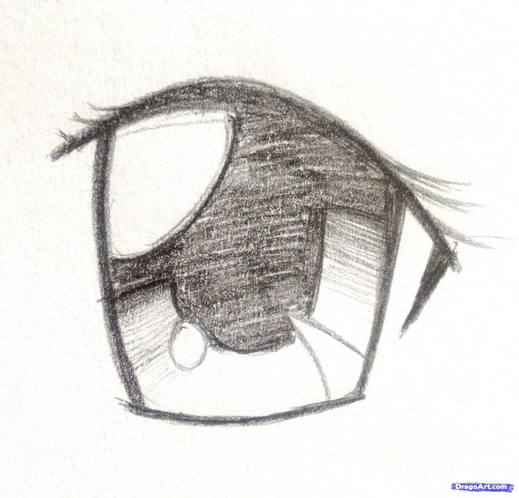 The Most Famous Anime Eyes Pencil Easy Image Result For Anime Drawings In Pencil | Tutorials | Anime Pictures