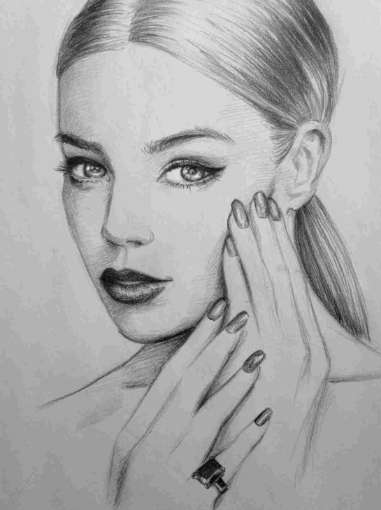 The Most Famous Beautiful Face Sketch Techniques Makeup-Rhgslycom-Beautiful-How-To-Draw-Hair-In-Pencil-Portraits-Face Pics