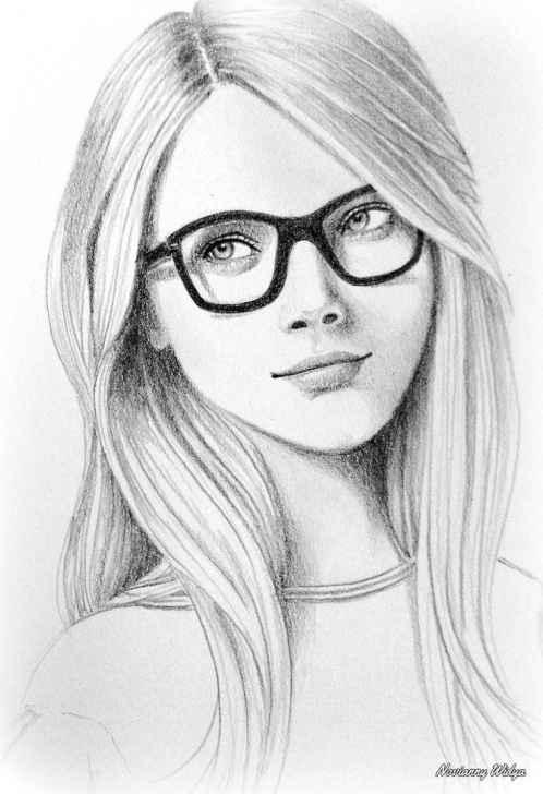 The Most Famous Beautiful Girl Pencil Sketch Simple Beautiful Drawing Of A Beautiful Girl | Created To Create In 2019 Images