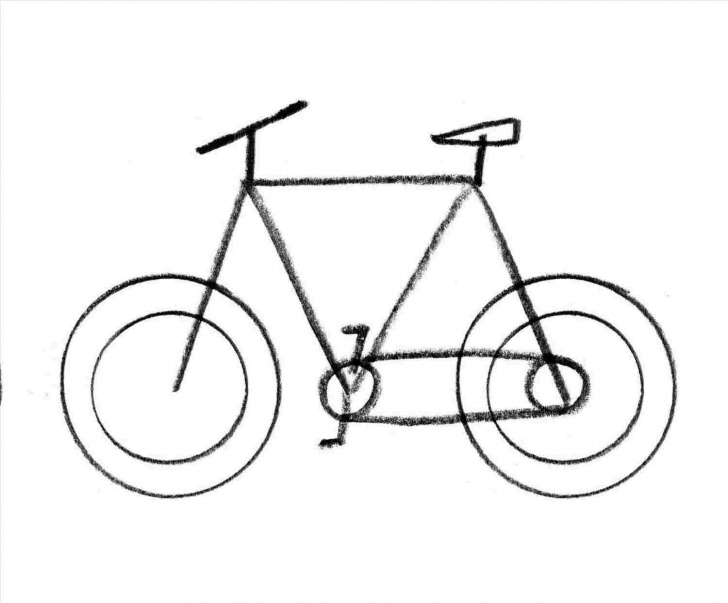 The Most Famous Bicycle Pencil Drawing Lessons Pencil Drawings Of Bikes | Drawing Work Pics