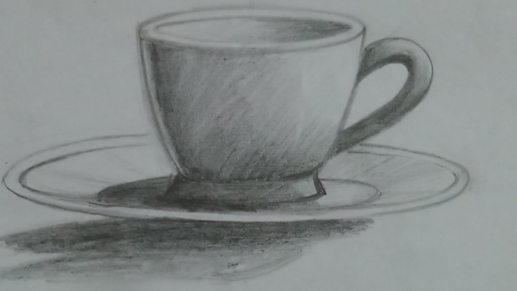 The Most Famous Cup And Saucer Pencil Drawing Techniques for Beginners How To Draw Cup Plate With Pencil For Beginners Pic