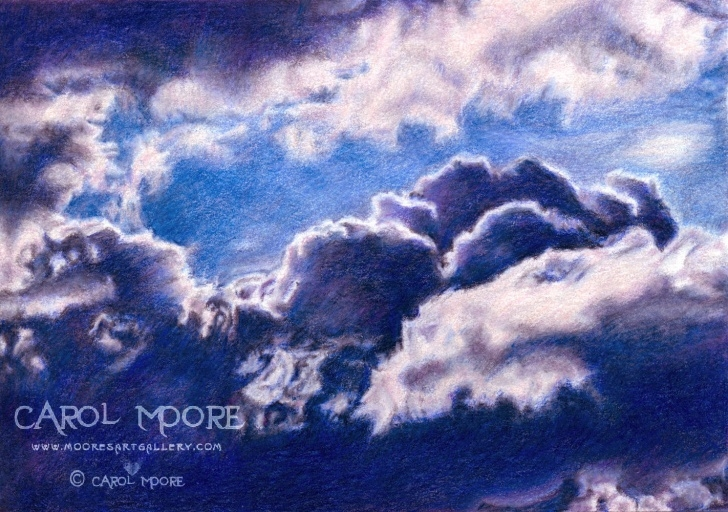 The Most Famous Drawing Clouds With Colored Pencils Courses Drawing Clouds With Pencil At Paintingvalley | Explore Images