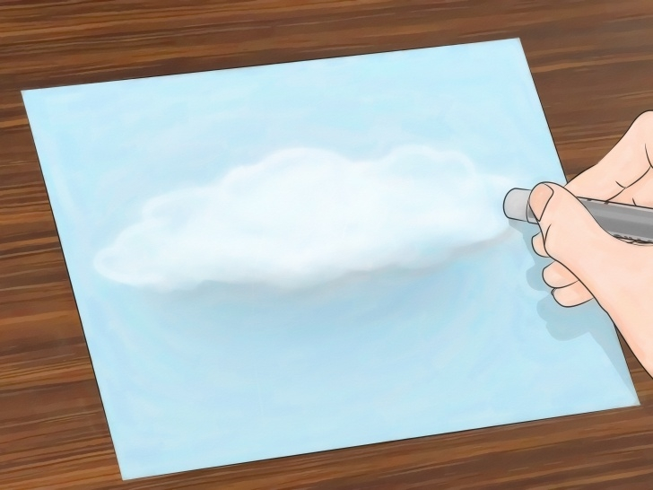The Most Famous Drawing Clouds With Colored Pencils Techniques for Beginners How To Draw Clouds: 11 Steps (With Pictures) - Wikihow Photos