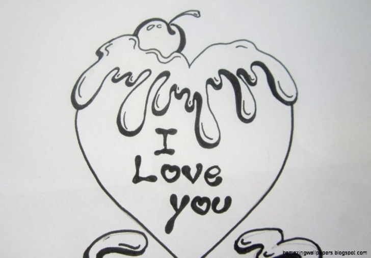 The Most Famous Easy Love Drawings For Your Girlfriend In Pencil Easy Cute Hearts To Draw For Your Boyfriend - Google Search | Cute Things Image