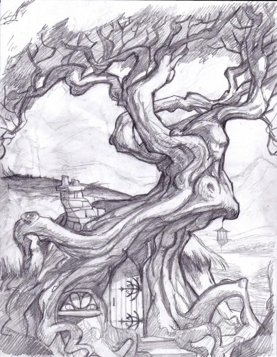 Environment Pencil Drawing