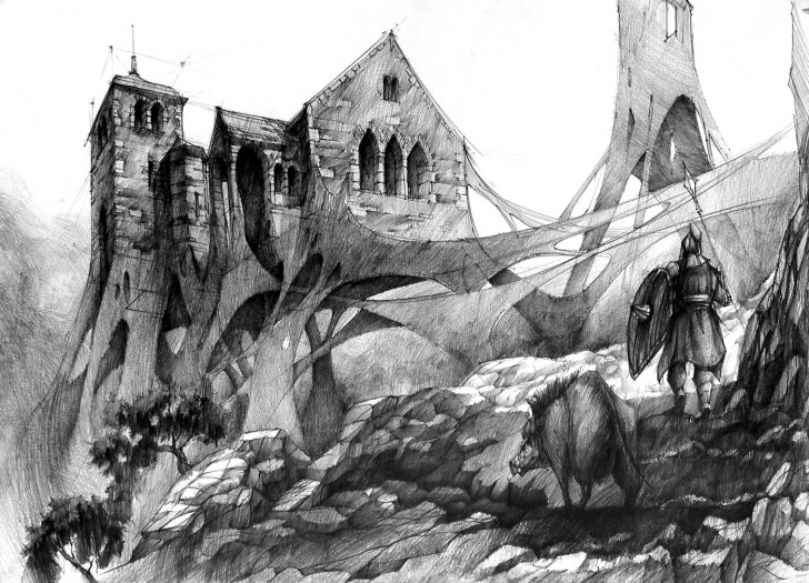 The Most Famous Fantasy Pencil Drawings Techniques Fantasy Art Sketches At Paintingvalley   Explore Collection Of Images