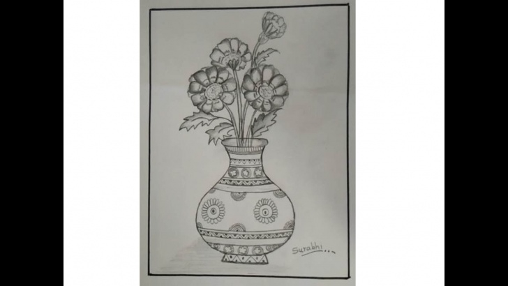 The Most Famous Flower Pot Pencil Shading for Beginners Designfull Flower Pot By Pencil Shading - Youtube Images