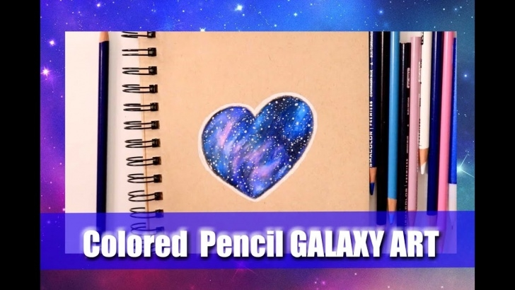 The Most Famous Galaxy Drawings With Colored Pencils Simple How To Make Galaxies With Colored Pencils (On Toned-Tan Paper) -  @dramaticparrot Pics