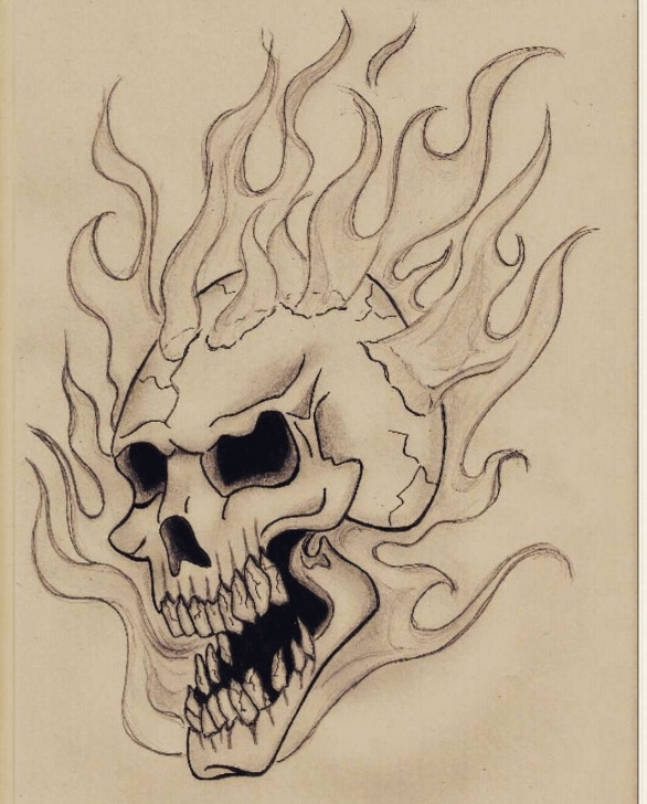 The Most Famous Ghost Rider Pencil Sketch Tutorials Pin By Adam M. On Ghost Rider Coloring Pages | Ghost Rider Drawing Image