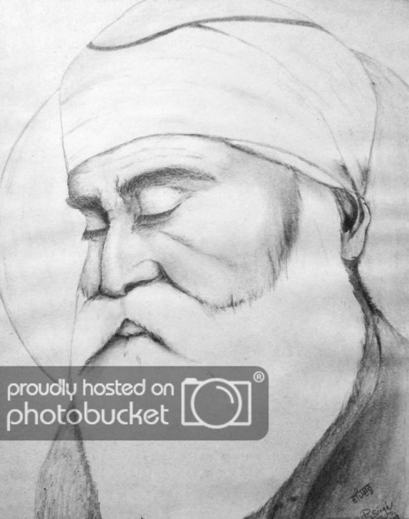 Guru Purnima Pencil Sketch