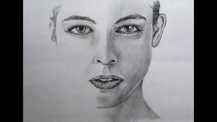 The Most Famous Human Pencil Drawing Ideas Easy Face Drawing In Pencil | Pencil Sketch Of A Human Face | Pencil Drawing Pic