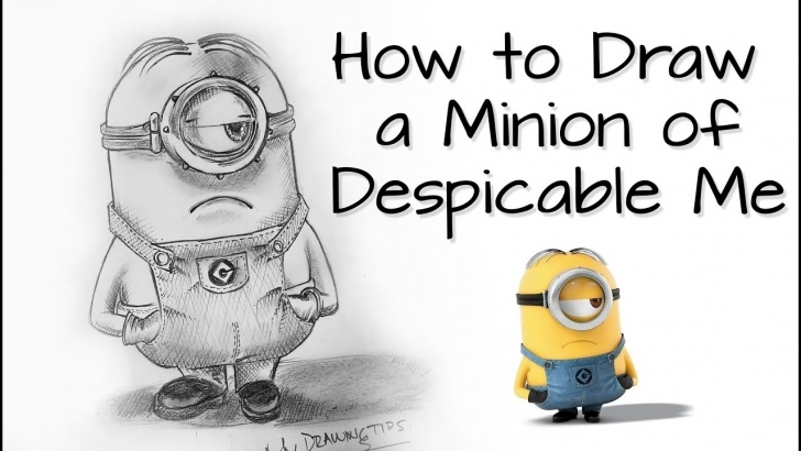 The Most Famous Minion Pencil Sketch Ideas How To Sketch A Minion With Graphite Pencil Pic