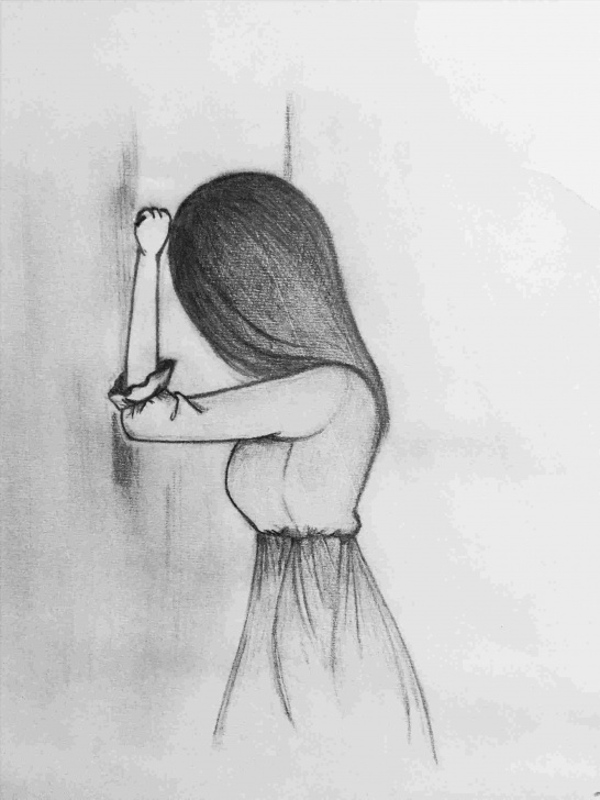The Most Famous Pencil Drawings Of Loneliness Ideas Broken Angel Drawing Rhpinterestcom Anime Easy Pencil Drawings Of Images