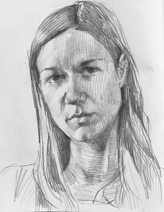 The Most Famous Pencil Self Portrait Techniques for Beginners Self Portrait. #art #sketch #sketchbook #pencil #graphite #drawing Picture