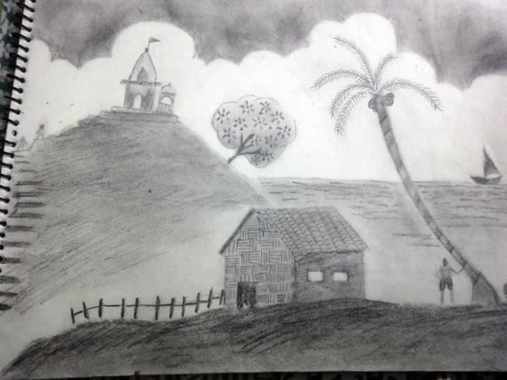 The Most Famous Pencil Shading Landscape Ideas Pencil Shading Landscape | A Landscape I Made By Pencil Shad… | Flickr Images