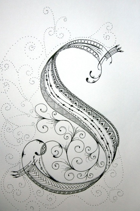 The Most Famous Pencil Sketches Of Alphabets Techniques Pencil Sketch Alphabets And Best Pencil Etc. Images On | Zentangle Photo